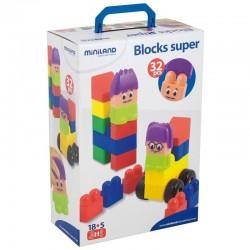 Blocks super 32 piezas...