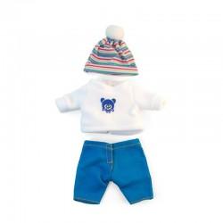 Conjunto frío jersey 21cm