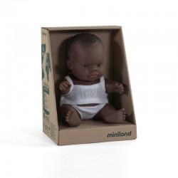 Baby africano niña