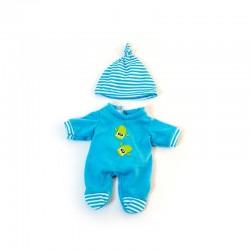 Pijama frío azul 21 cms.