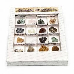 Caja minerales del mundo 5