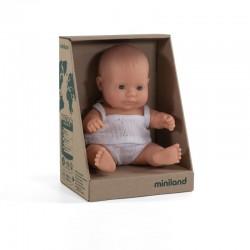 Baby caucásico niña