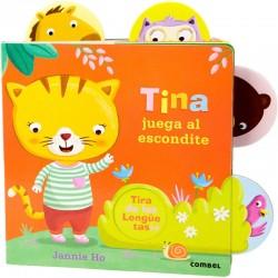 Tina juega al escondite
