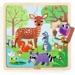 Encajable Puzzlo Forest