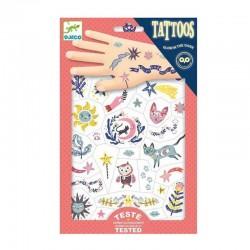Tatuajes fosforescentes...