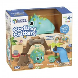 Coding critters dinosaurio