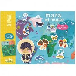 Pegatinas De Mapa Del Mundo