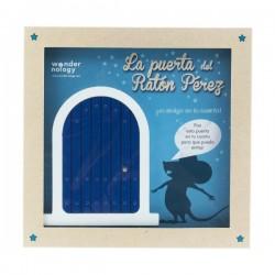 La puerta azul del...