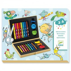 Caja de colores para...