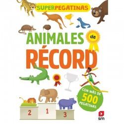 Superpegatinas. Animales de...