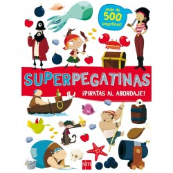 Superpegatinas. ¡Piratas al...