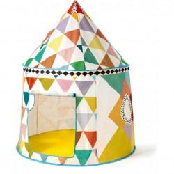 Cabaña tela multicolor