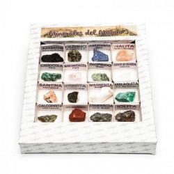 Caja minerales del mundo 3