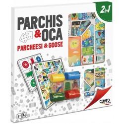 Parchis-Oca con accesorios