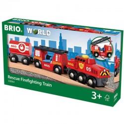 Tren de rescate bomberos