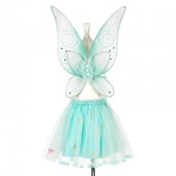 Conjunto falda y alas...