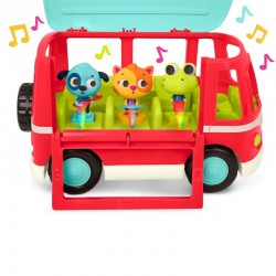 Banda musical con autobús