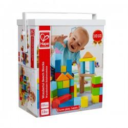 100 piezas bloques madera