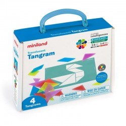 Tangram translúcido