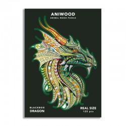 Puzle Aniwood Dragón mediano