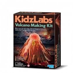 Crea tu volcán Kidzlabs