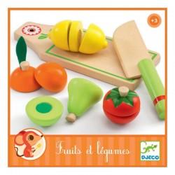 Frutas y verduras para cortar