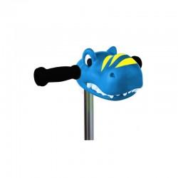 Cabeza Dino azul