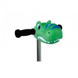 Cabeza Dino verde