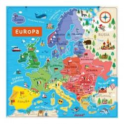 Puzle Europa magnetico