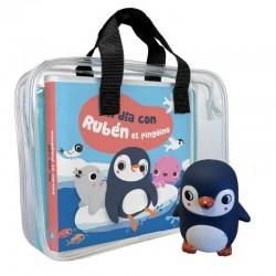 Libro baño, rubén el pingüino