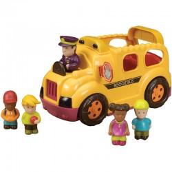 Autobús con figuras