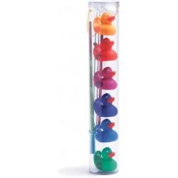 Pesca patos arco iris