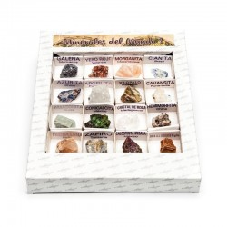 Caja minerales del mundo 2
