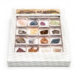 Caja minerales del mundo 1