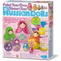 Kit pintura muñecas rusas