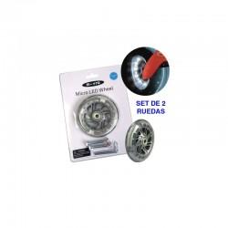 Ruedas Led Mini Micro 120 mm