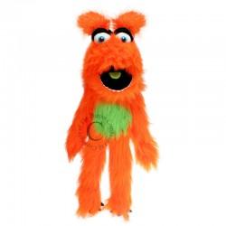 Marioneta monstruo naranja